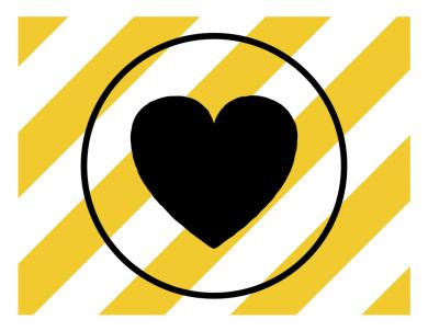 Covid-heart-striped